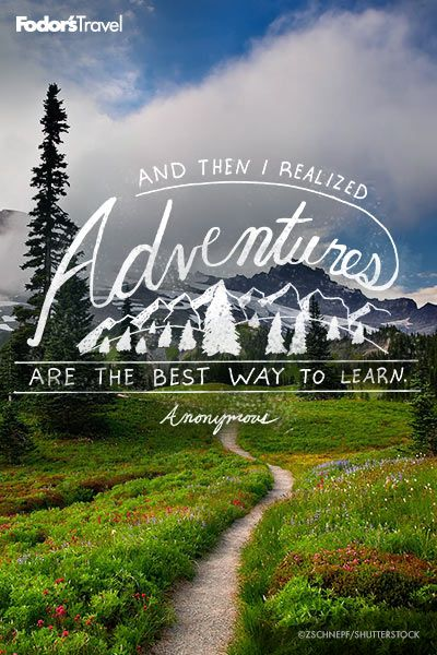 Amazing Go Have An Adventure.