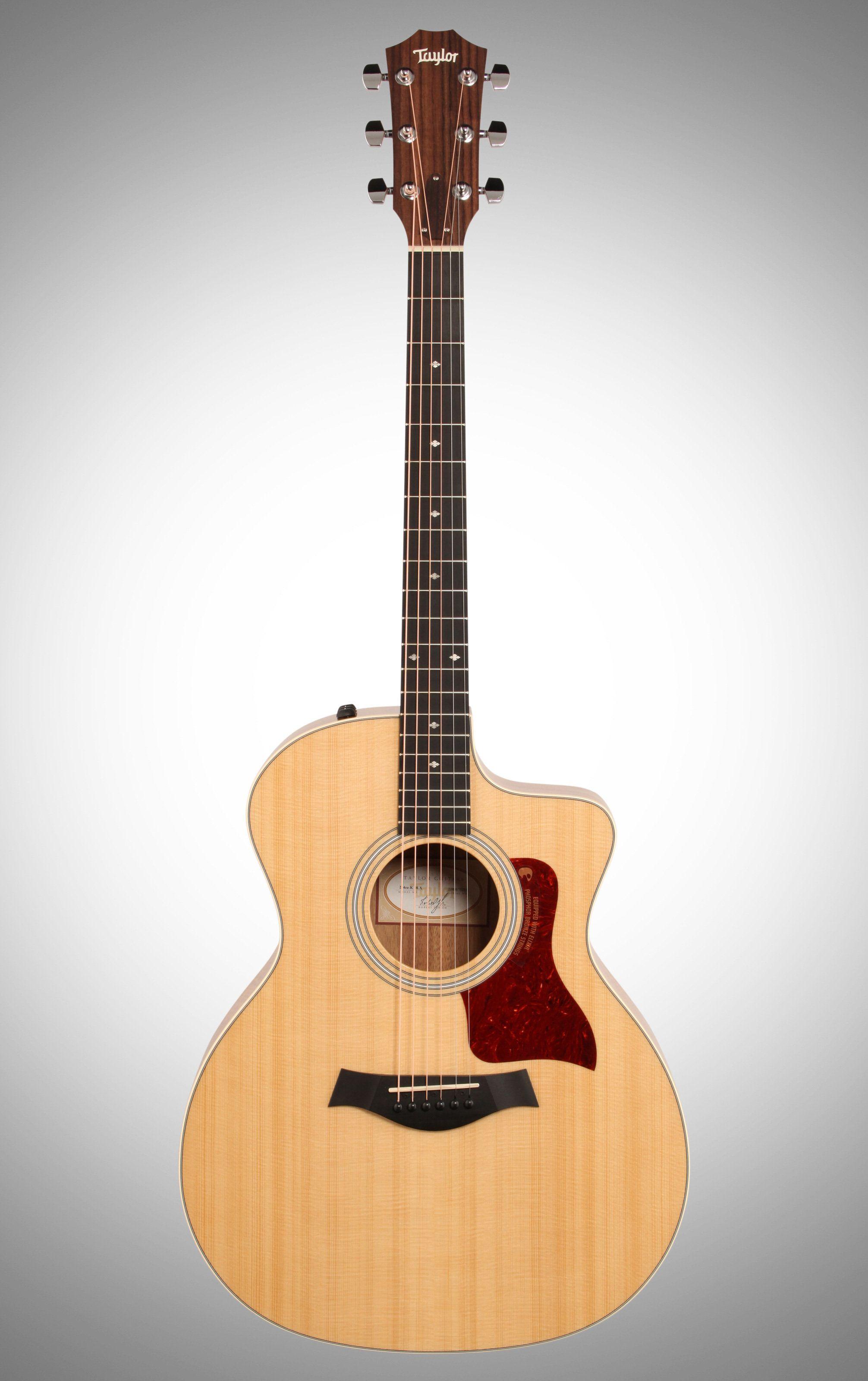 Taylor 214ce Deluxe Grand Auditorium Acoustic Electric Guitar With Case Taylor Guitars Acoustic Guitar Taylor Guitars
