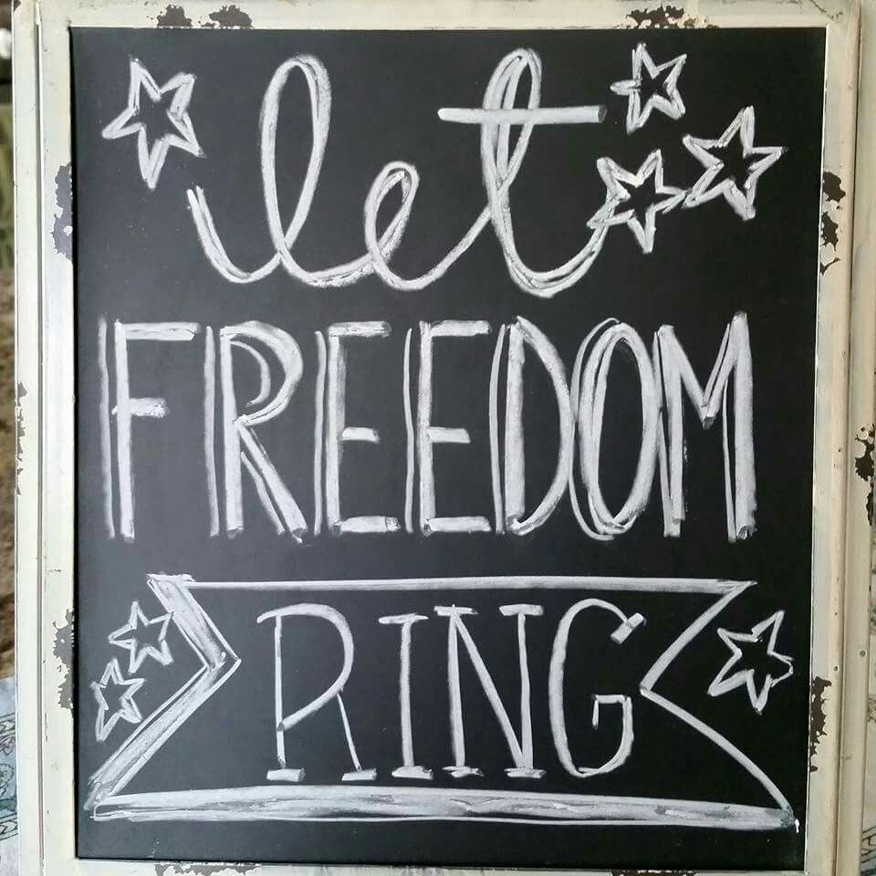 Chalkboard Designs 4th Of July Chalkboard Summer Chalkboard Independence Day