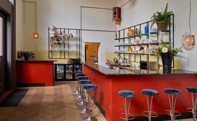 Apollo Bar Kantine Copenhagen Denmark Small Restaurant Design Bar Design Restaurant Cafe Interior