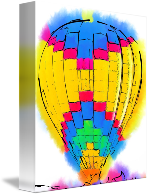 The Yellow And Blue Balloon\