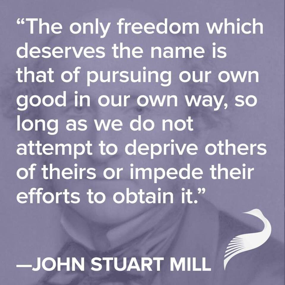 Freedom john stuart mill