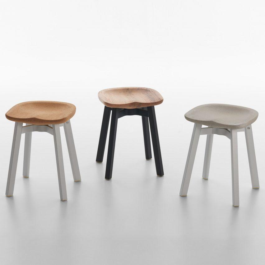 su stool collection cork seat nendo furniture design rh pinterest es