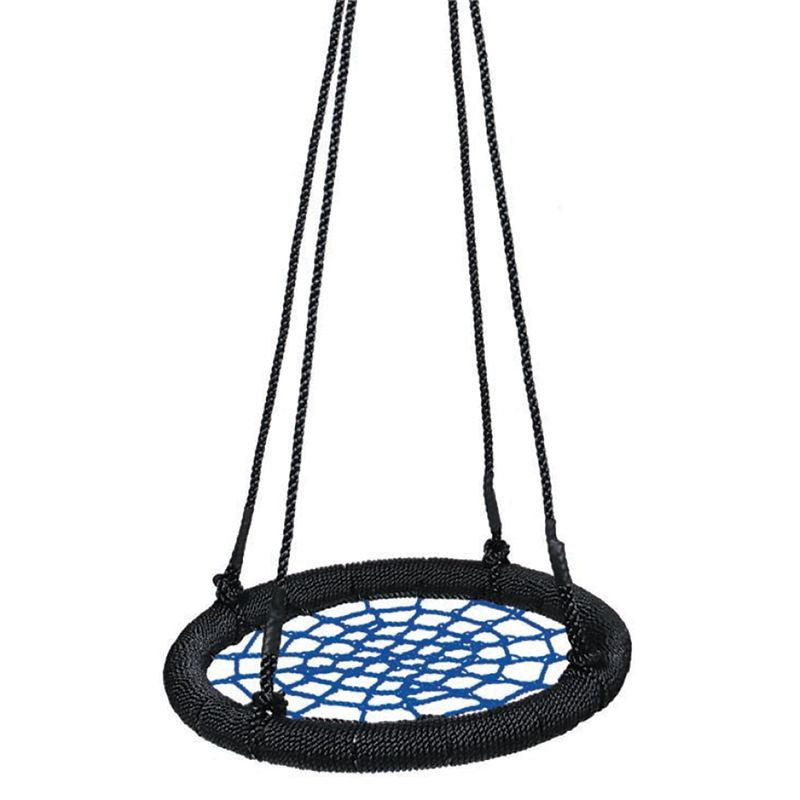 Find swing slide climb round net swing at bunnings for Round porch swing