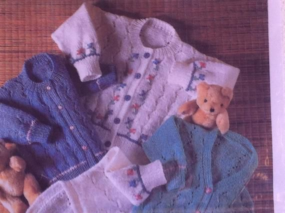 5a1085942 UK SELLER Vintage pdf baby knitting pattern Gregory Kassapian Round ...