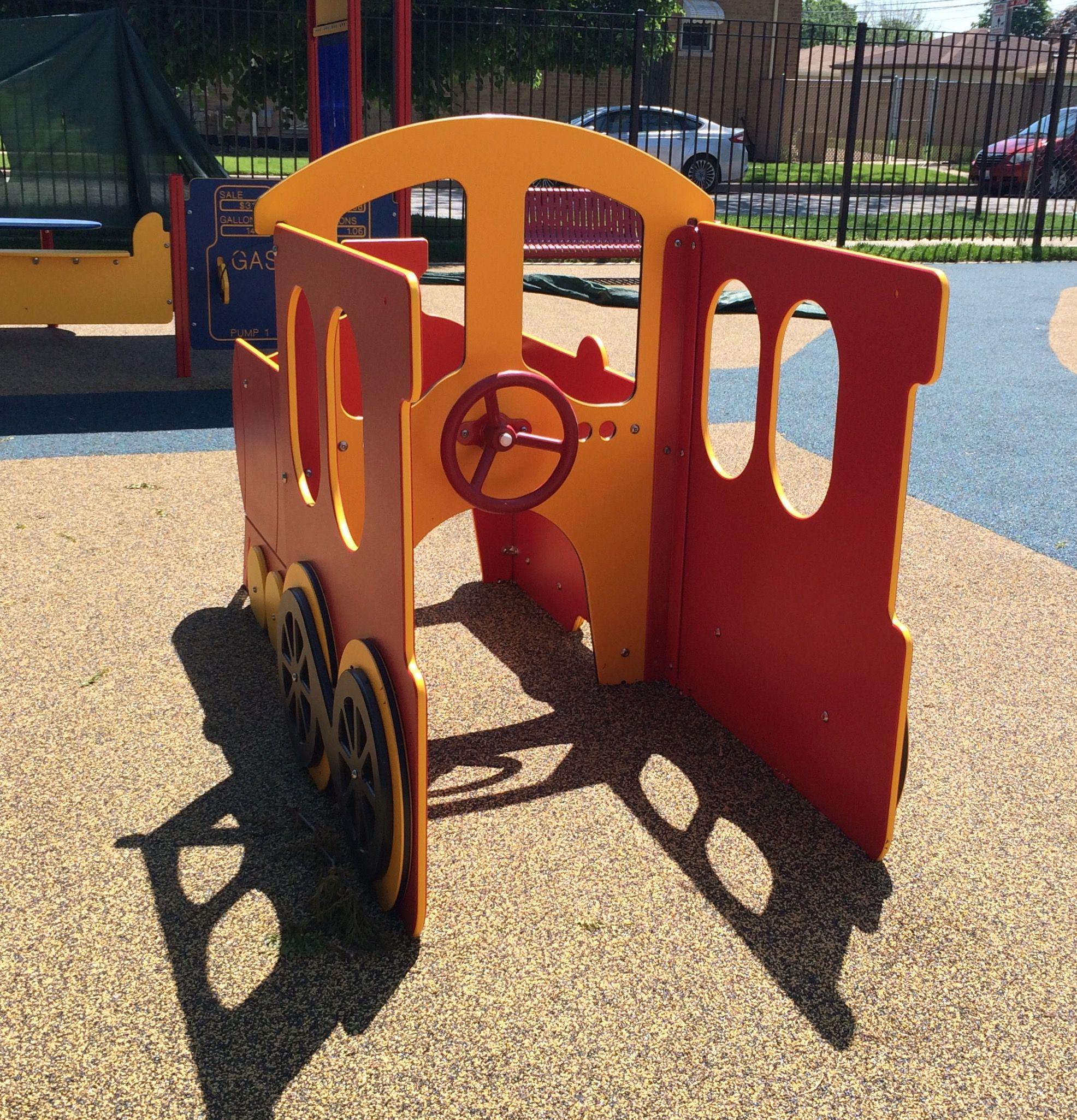 Wheelchair Accessible Train Engine