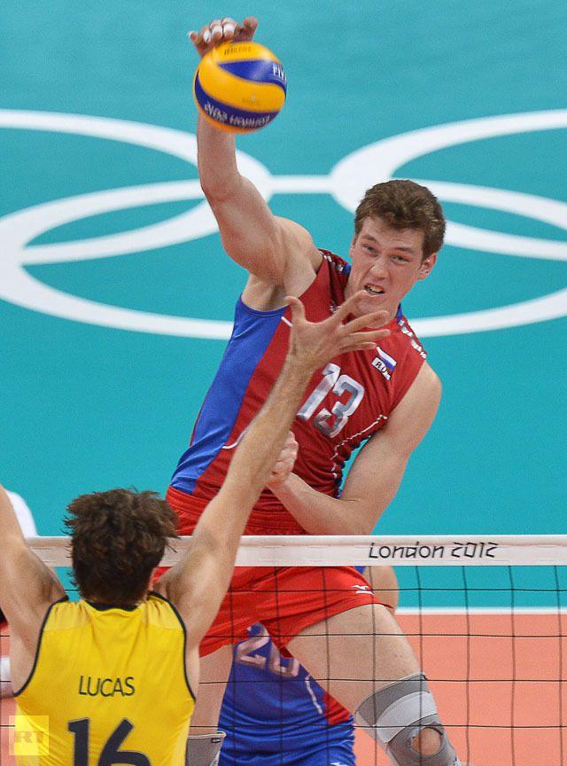 Dmitriy Muserskiy In My Opinion The Biggest Game Changer Of The 2012 Olympic Games Volleybal