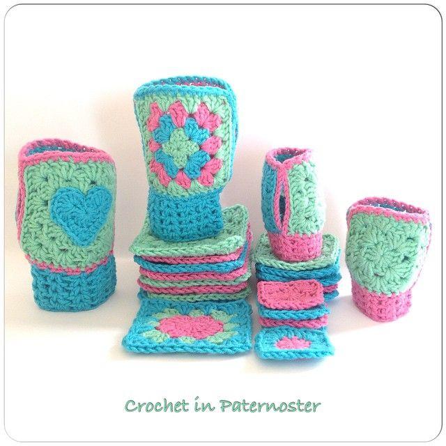 crochetinpaternoster crochet gloves | Diseños | Pinterest | Mitones ...
