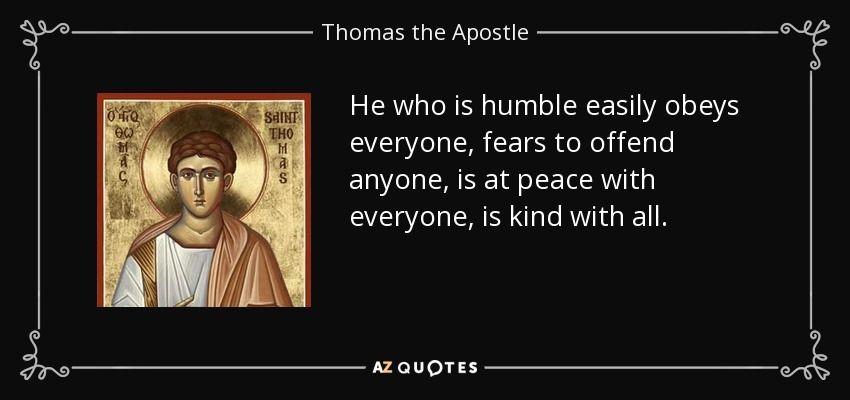 Top 5 Quotes By Thomas The Apostle A Z Quotes Faith