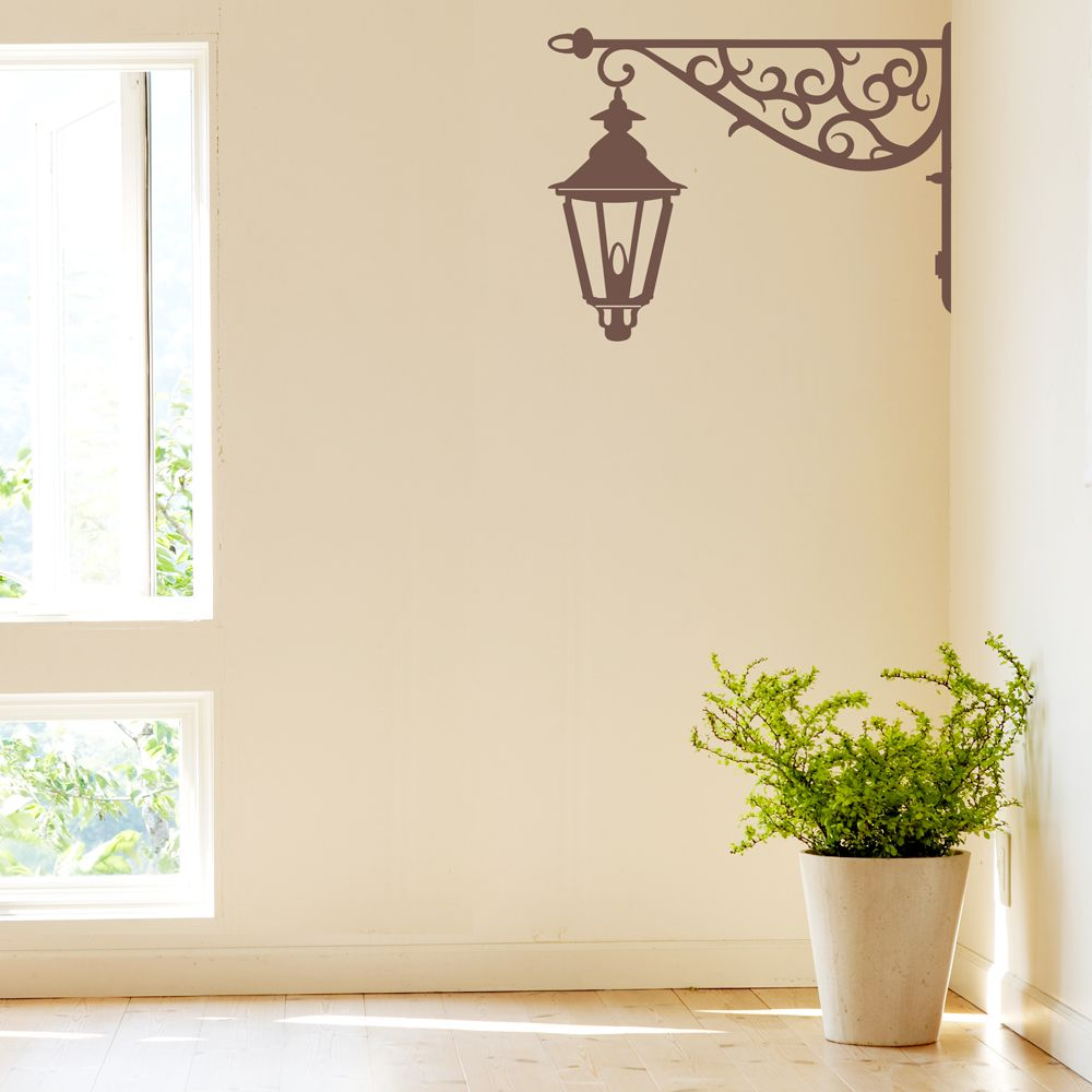 Corner Lamp Wall Decal | Wall Decals | Pinterest | Wall ...