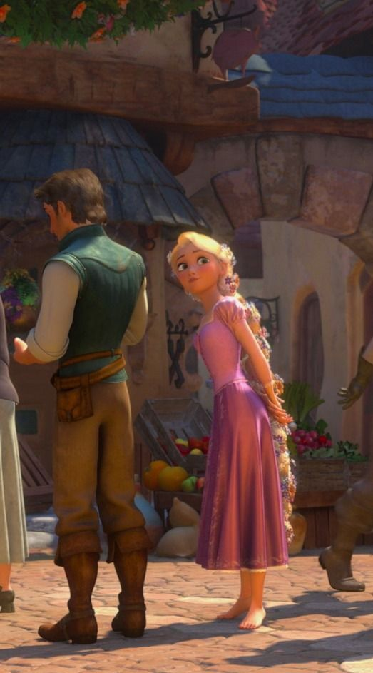 Tangled is my favorite Disney movie. Innocent but not girl finds her absolutely not perfect but so perfect charming for her. And takes him as is!