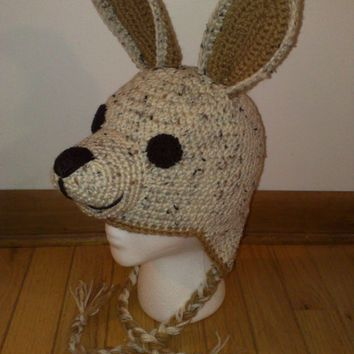 Image result for crochet kangaroo hat pattern free | Holidays ...
