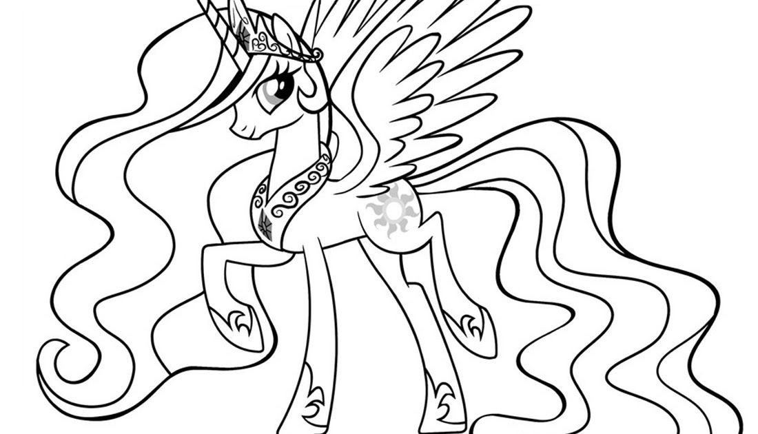 Princess Celestia Coloring Pages Best Coloring Pages For Kids My Little Pony Princess Cel My Little Pony Coloring My Little Pony Princess Elsa Coloring Pages