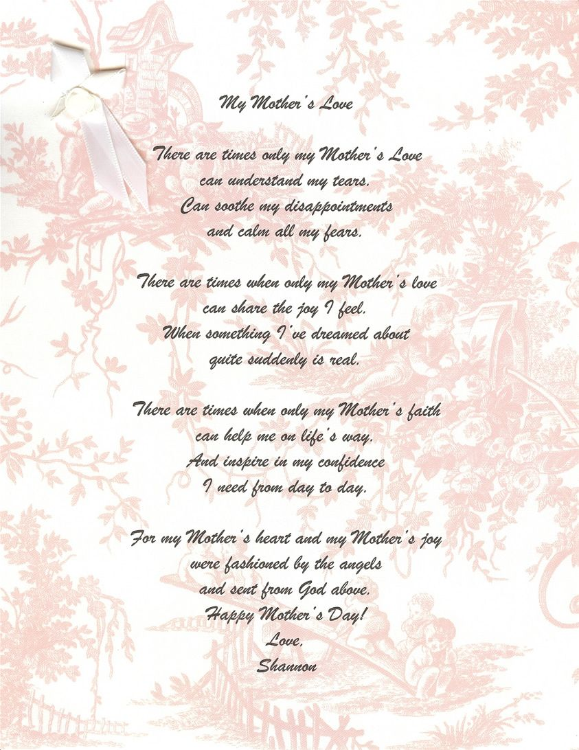 mothers day | mothers day poems from daughter | I