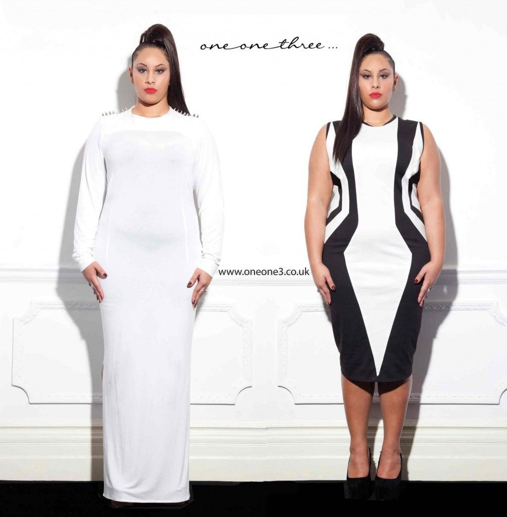 New Plus Size Designer Oneonethree Launches Their Online Lookbook