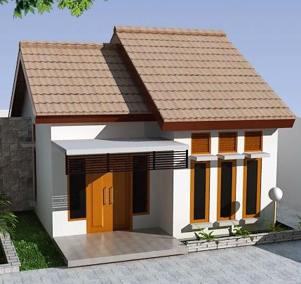 Desain Rumah Type 36 Modern Model Minimalis