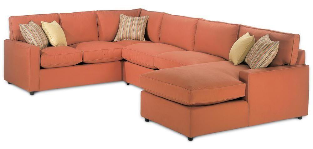 Chaise Lounge Sofa Monaco Sectional Sofa by Rowe