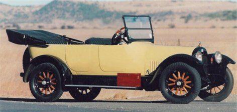 1919 Buick Open Tourer