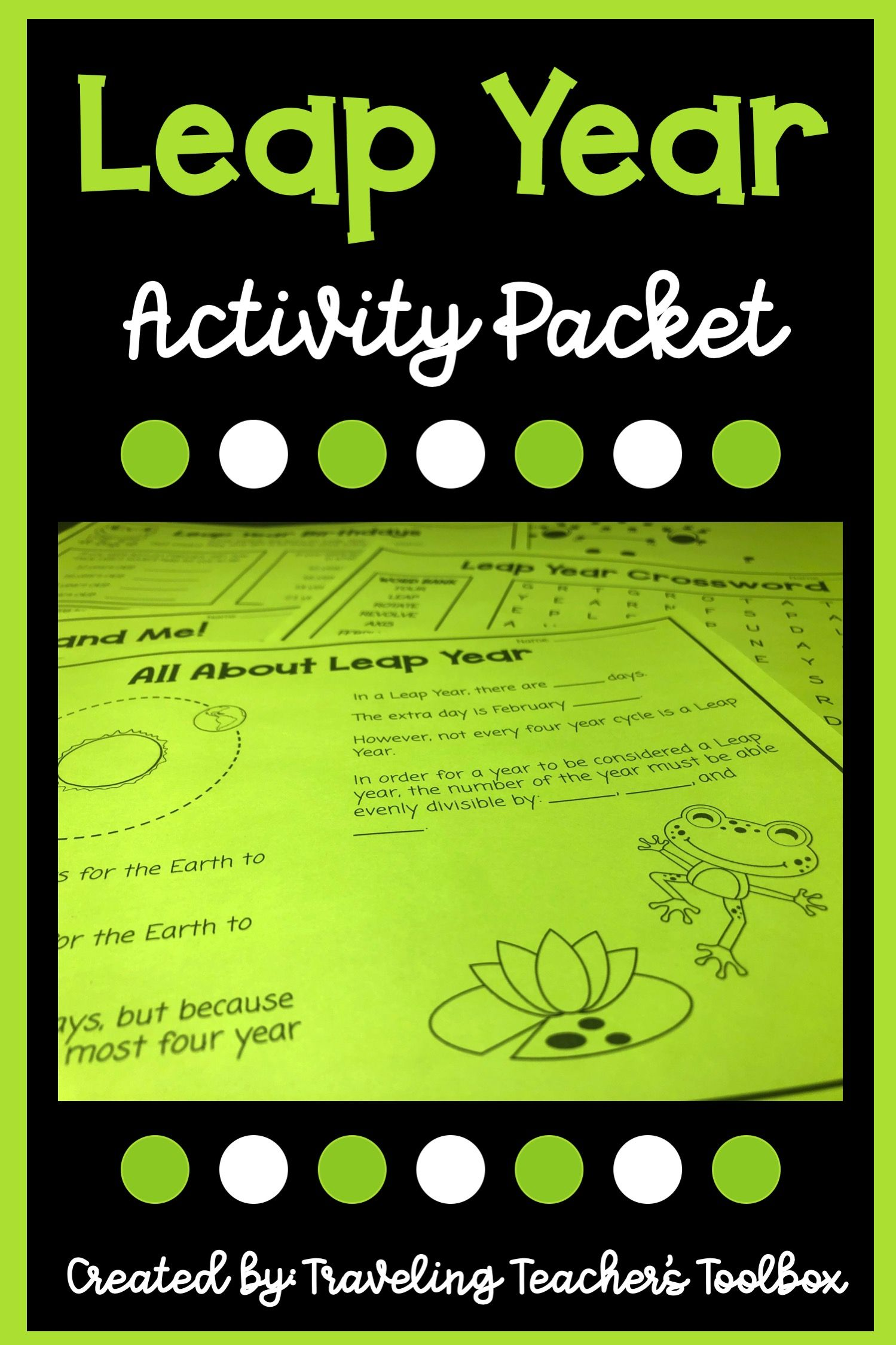 Leap Year Activity Packet In