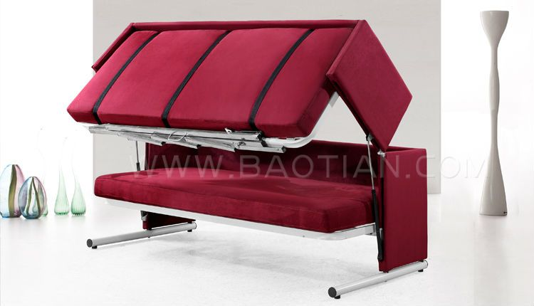 2 In 1 Double Deck Sofabed E Saving Sofa Bed View Baotian Product Details From Furniture Co Ltd On Alibaba