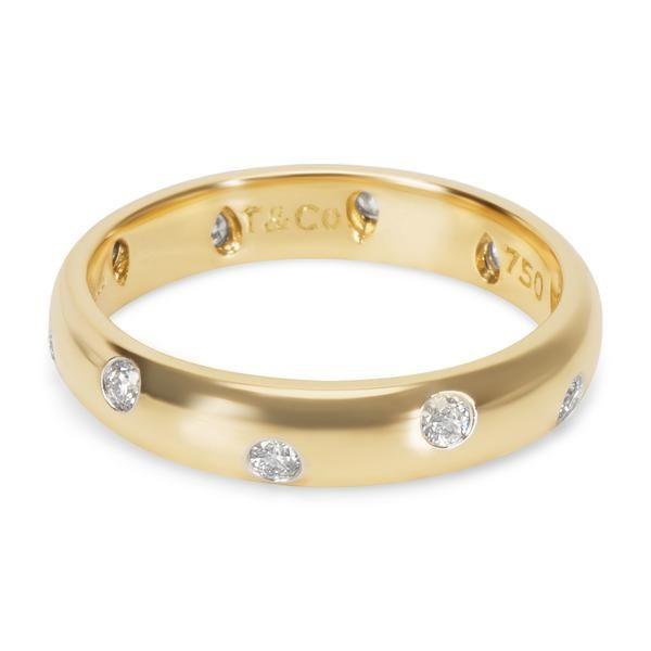 2af11ec580805 Tiffany & Co. Etoile Diamond Ring in 18K Gold & Platinum (0.22 CTW ...