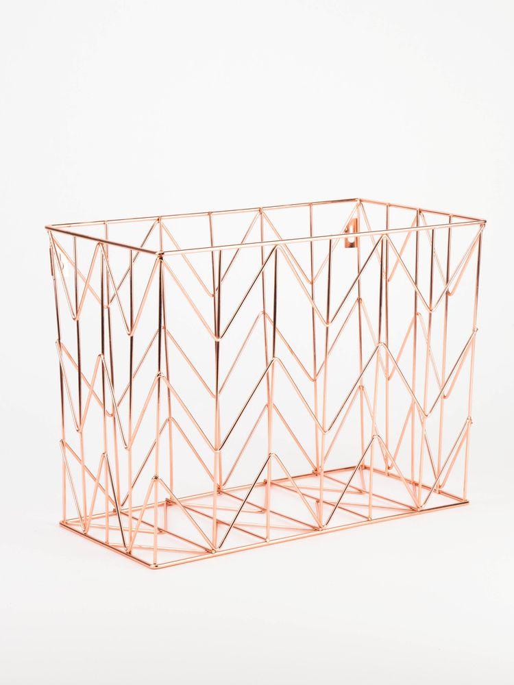 Copper Wire Hanging File Basket Hanging Files Hanging File Organizer Desk Organization