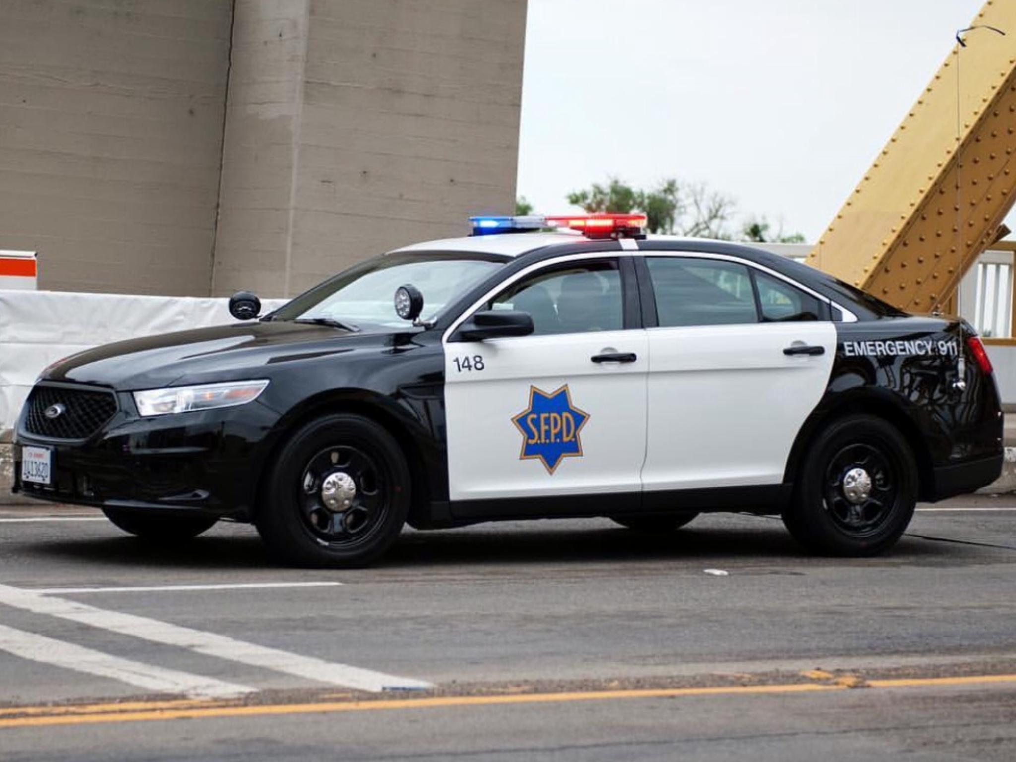 San Francisco Ca Police 148 Ford Interceptor Police Cars Ford Police Us Police Car