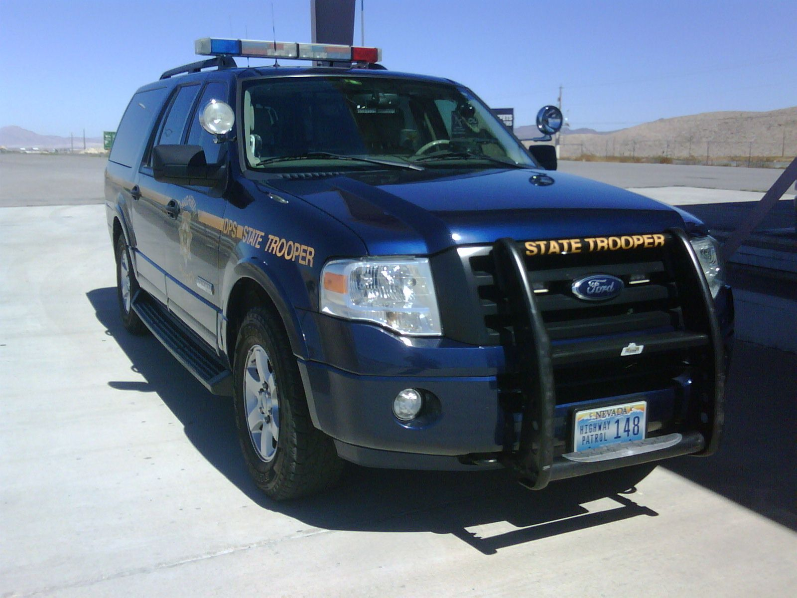 Nevada highway patrol ford expedition