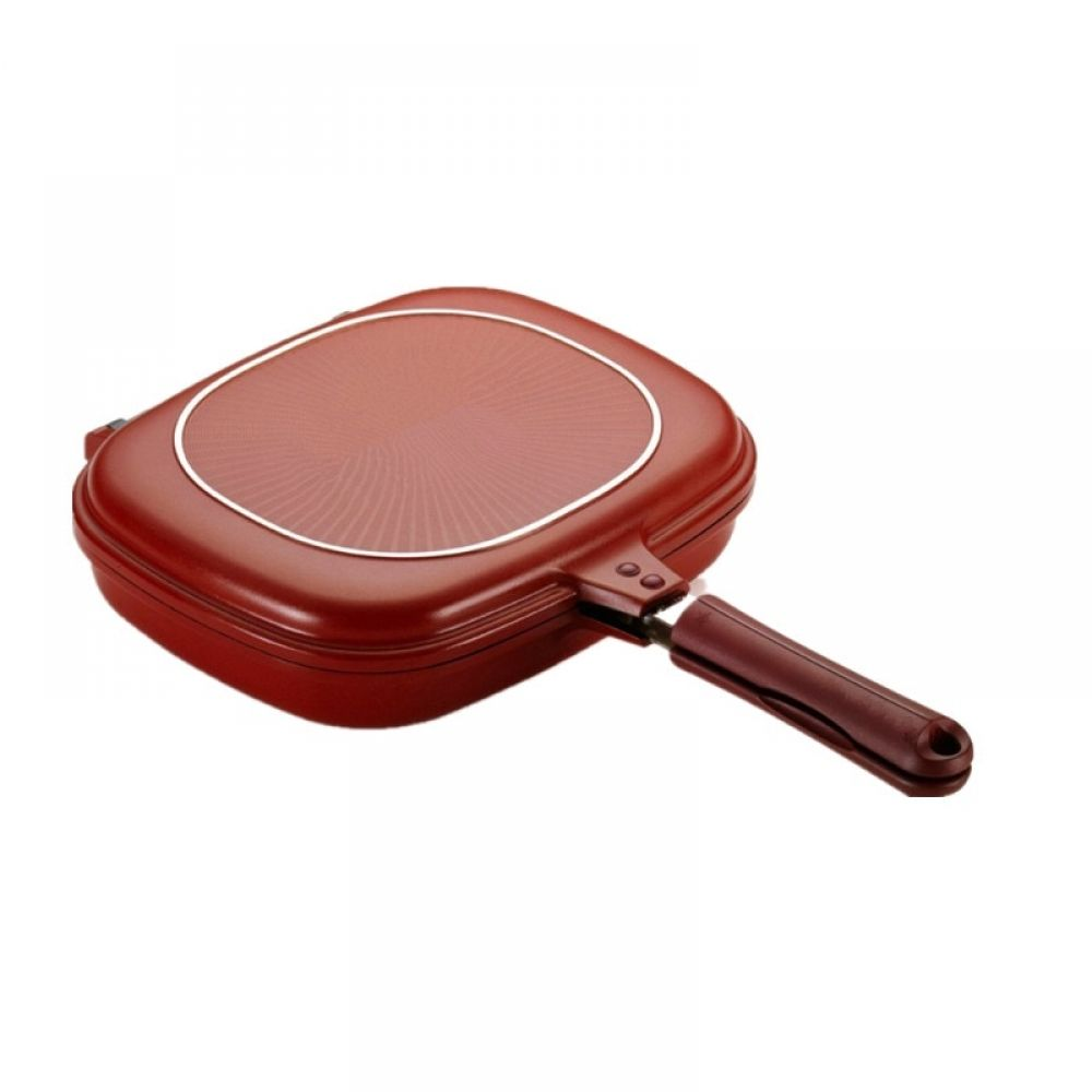 28cm Double Sided Closing Frying Pan In 2020 Grilling Grill Pan