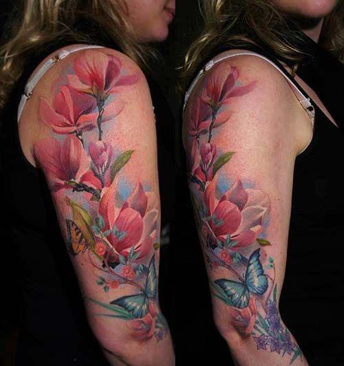 Upper Arm Tattoo Woman: Kadın üst Kol Dövme Modelleri Woman Upper Arm Tattoos 7