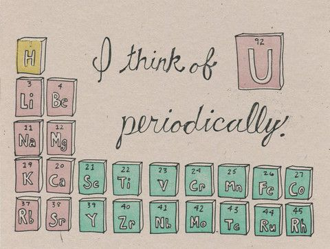 Happy Valentineu0027s Day from PunFoods Cool stuff Pinterest - best of periodic table puns