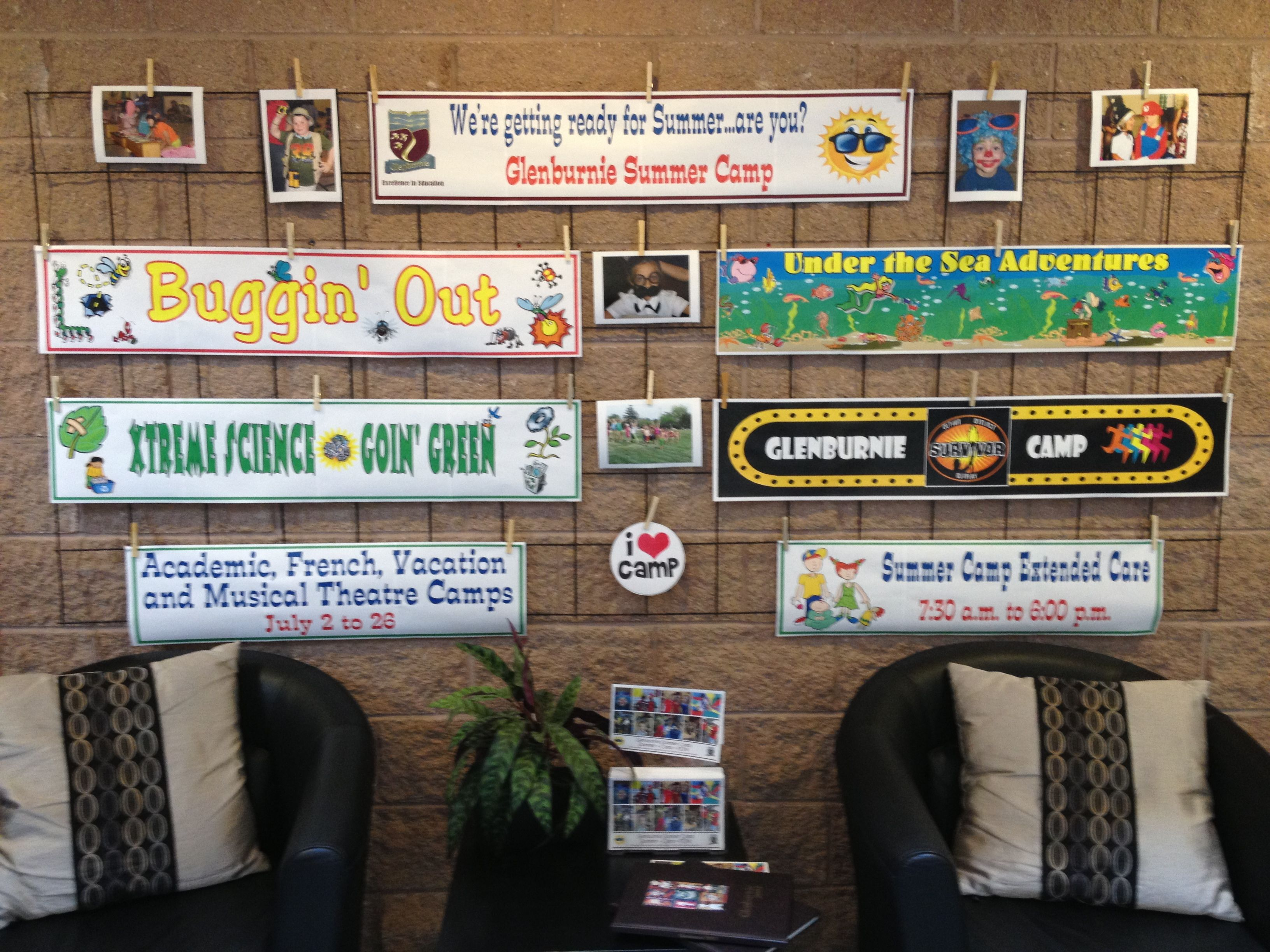 Glenburnie Summer Camp - weekly themes!