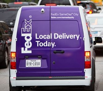 FedEx Local Delivery vehicle   FedEx   Fedex express, Parcel