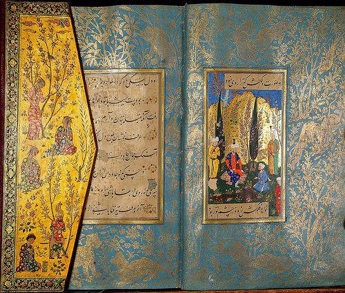 Shah Listens To Spiritual Instructions From A Dervish Book Art Art Islamic Art