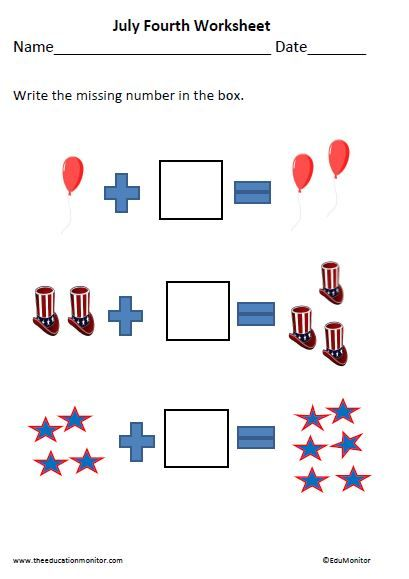 July 4th Worksheets And Printables Independence Day Worksheets And