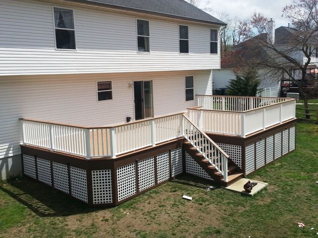 Pier And Beam Skirting Google Search Alpine House Deck Decks