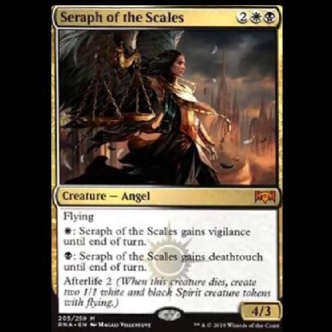 Seraph Ok Scales Our First Mythic From The Orzhov Guild Great Card With Its Stats And Cmc Lyra Will Be A Solid Curve Plu Magic The Gathering Seraphim Mtg Orzhov vampires is probably one of the toughest matchups against any midrange and control deck due to the fact that it can go wide or go high. seraph ok scales our first mythic from