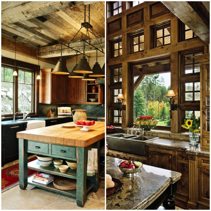 1001 ideas de cocinas rusticas c lidas y con encanto dise o de interiores - Ideas de cocinas rusticas ...