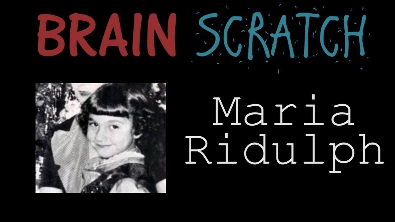 Brainscratch maria ridulph true crime mystery crime