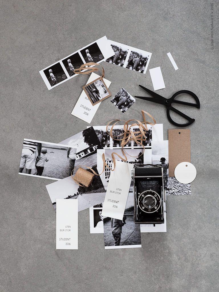Black & white, kraft paper photography styling | IKEA