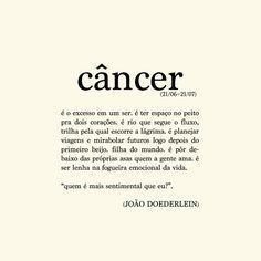 Poema Câncer