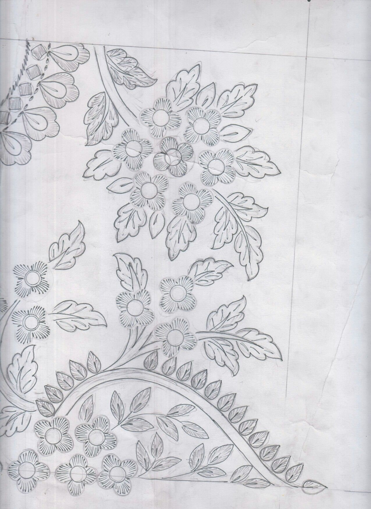 Pin by baldev gevariya on Design sketches | Embroidery ...