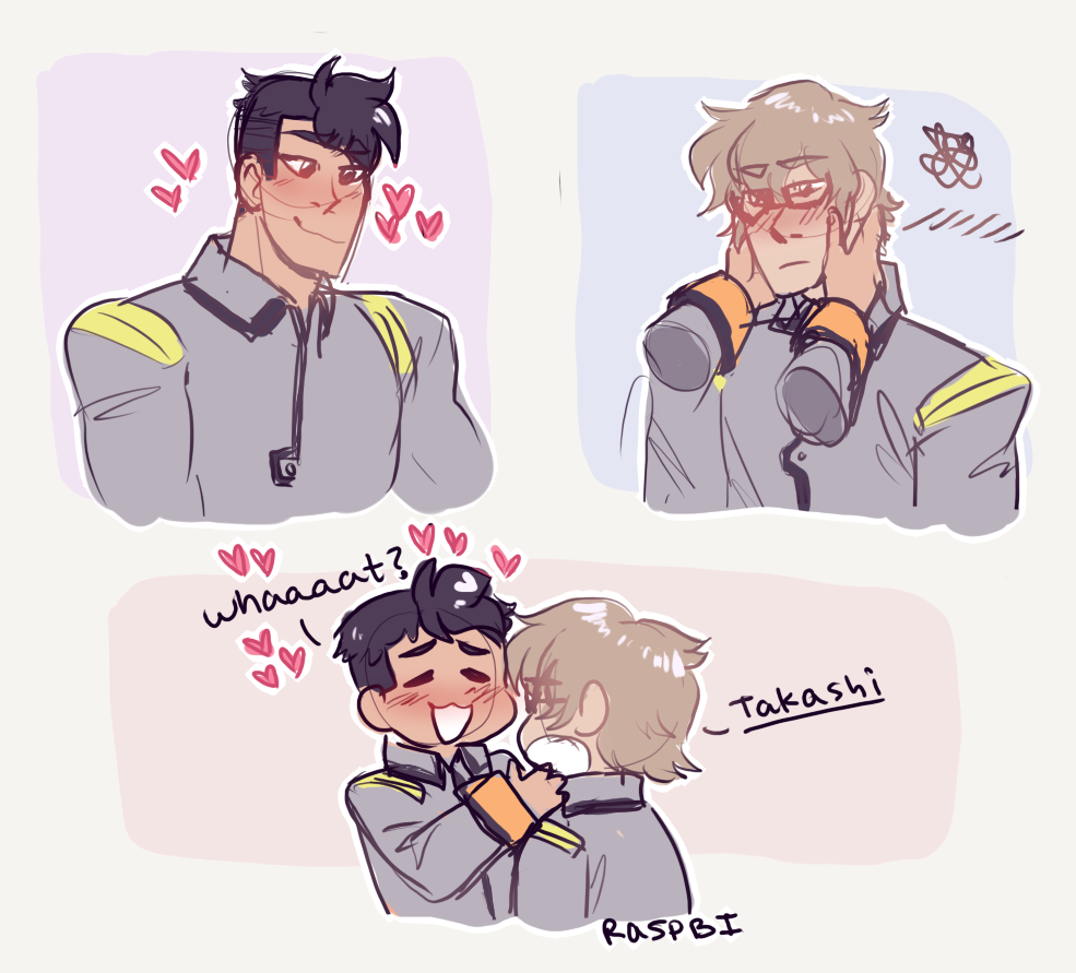 I drew this in like 5 seconds goodnight gay shiro tumblr Lil update