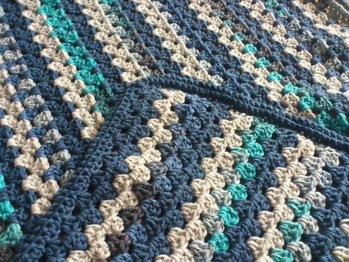 Home made granny stripes blanket   Crochet: Granny Stripes ...
