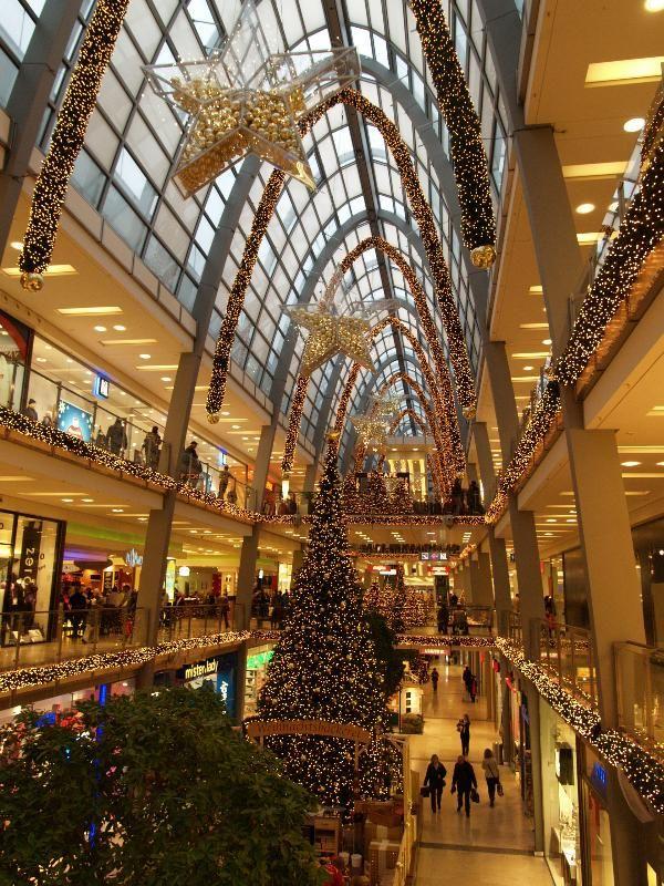 Karlsruhe, Germany Ettlinger Tor shopping centre