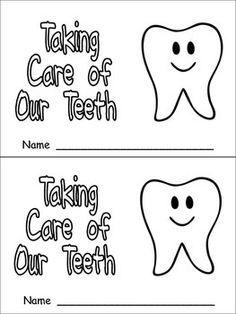 Taking Care Of Our Teeth Emergent Reader For Kindergarten Dental