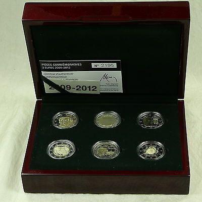 2 Euro Münze Münzen Coin Coins Luxemburg Luxembourg 2009 2010 2011