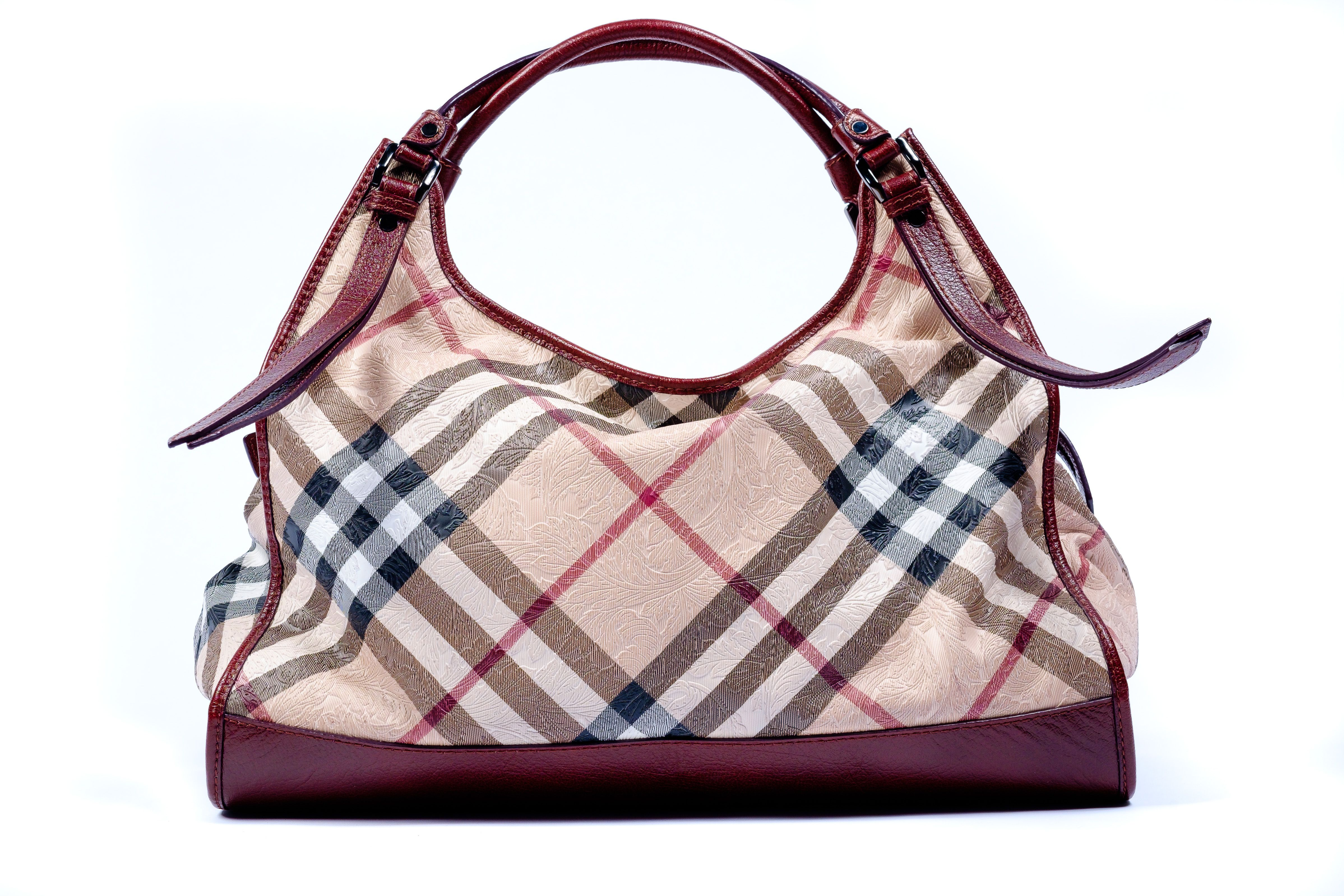 Large Embossed Burberry Handbag 1325 95
