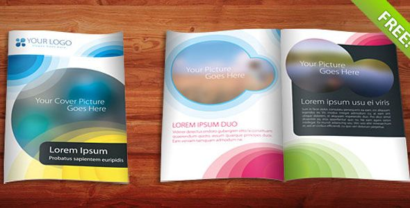 33 Free and Premium PSD and EPS Brochure Design Templates - free booklet template word