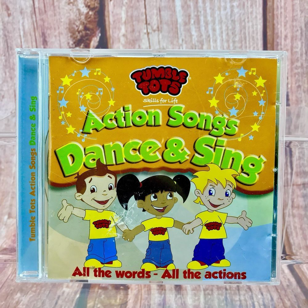 Tumble Tots Action Songs Dance and Sing, All The Words All The ...